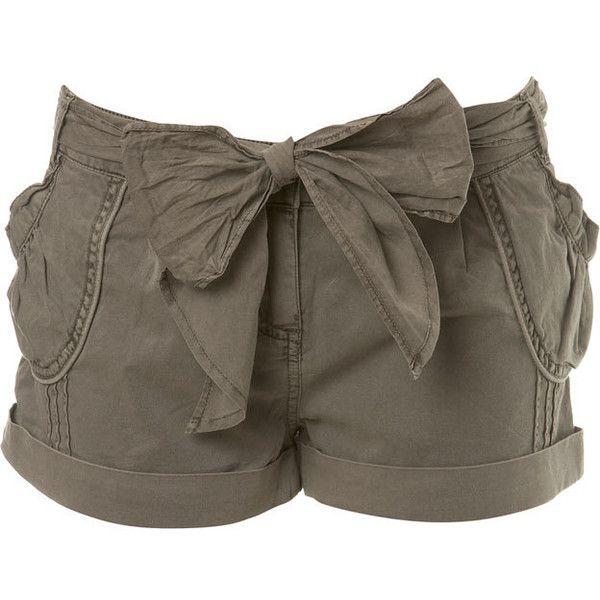 Petites Mink Washed Shorts, found on polyvore.com
