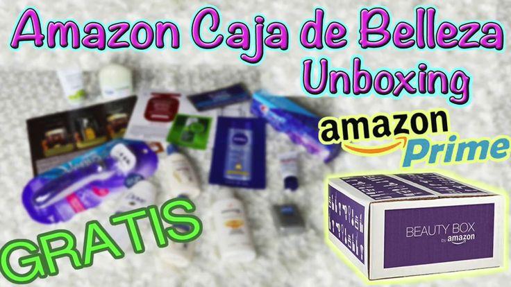 Amazon Beauty Box / Caja de Belleza Unboxing -  KarlaSays(español) 
