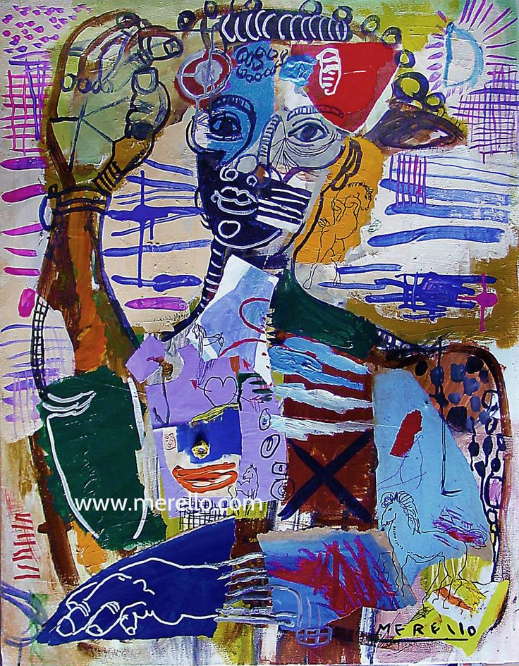 "B L U E S  Jose Manuel Merello.- ""El saludo del jinete español""  //  ""Spanish rider salutation"" (2005-2007) Mix Media on canvas. (92x73).  Spanish Painters. Art from Spain. http://www.merello.com"