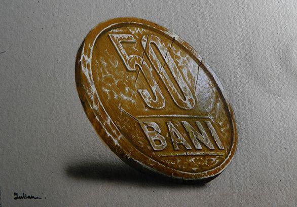 romanian coin