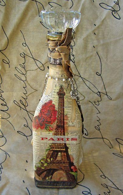 altered bottle: