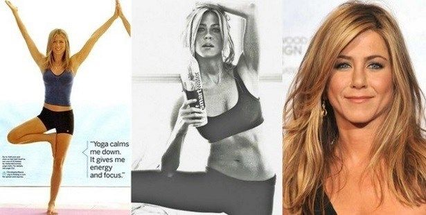 Jennifer Aniston Celebrates 46th Birthday: Anti-Aging Fitness Secrets Are Low-Carb Diet and Yoga: From the new Downdog Diary Yoga Blog found exclusively at DownDog Boutique. DownDog Diary brings together yoga stories from around the web on Yoga Lifestyle... Read more at DownDog Diary