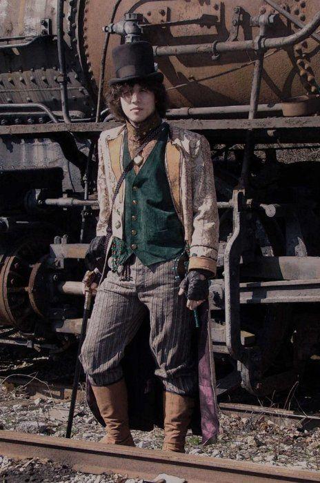 Couture et démesure Blog: Conseil 2 pour créer un costume Steampunk ; spécial hommes