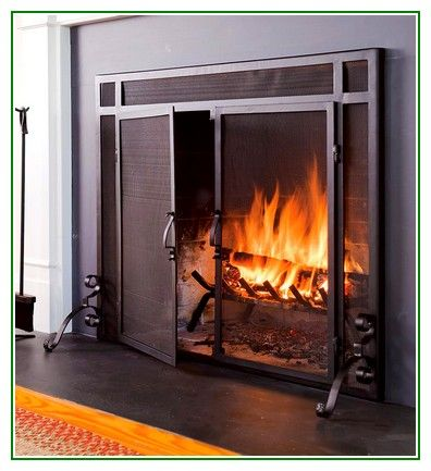 Great share [post_title] Large Custom Fireplace Screens With Doors For Living Room - http://ericjoe.com/large-custom-fireplace-screens-with-doors-for-living-room/ #LivingRoom