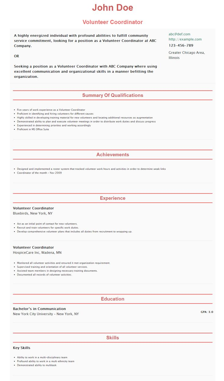 40 best hipcv resume examples images on pinterest resume - Demonstrated Abilities Resume Examples