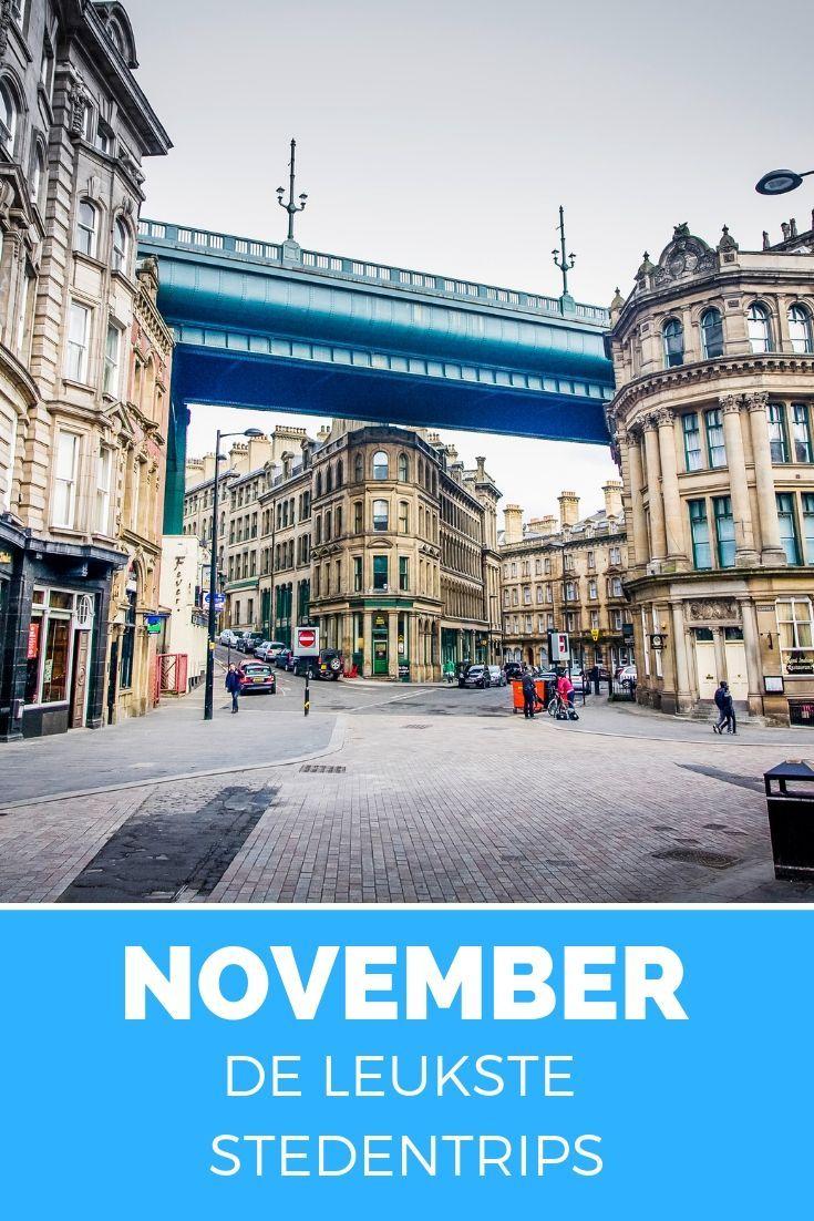 leuke stedentrip in november