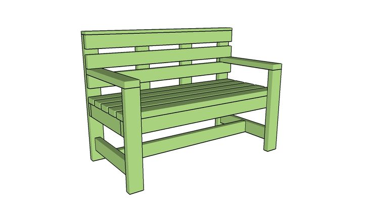 Free outdoor bench plans Free Garden Bench Plans