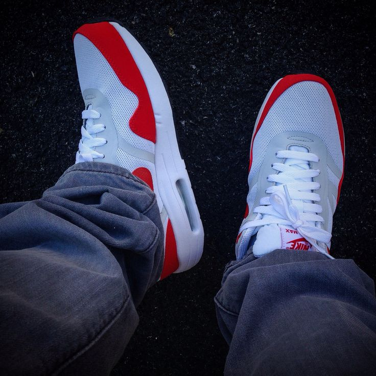 Nike air max 1 premium tape OG red
