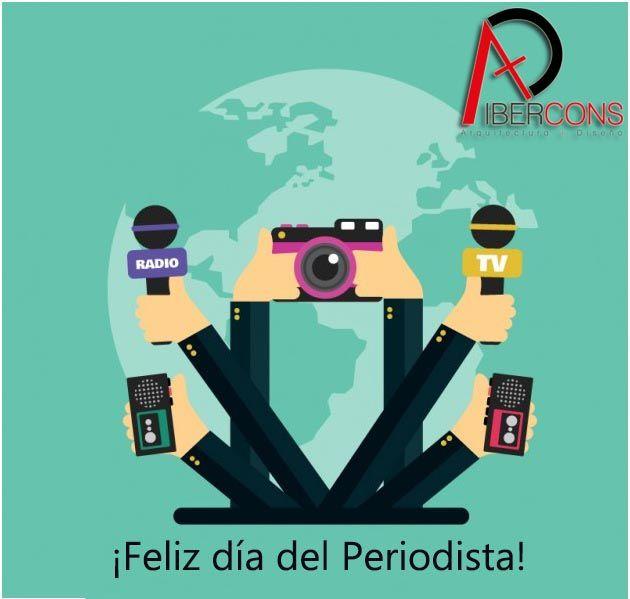 Ibercons Arquitectura + diseño les desea un feliz día a todos los periodistas y comunicadores. Visítanos en: www.ibercons.com.co