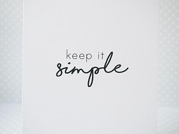Styl clean & simple, clean and simple,C&S czy teżCAS. W dosłownym tłumaczeniu oznacza czysto i prosto. I tak jest. Kartki tworzone w tym stylu odznaczają się przede wszystkim minimalizmem, czyli tworząc pracę w tym stylu, naprawdę ograniczamy ilość dodatków, warstwi...