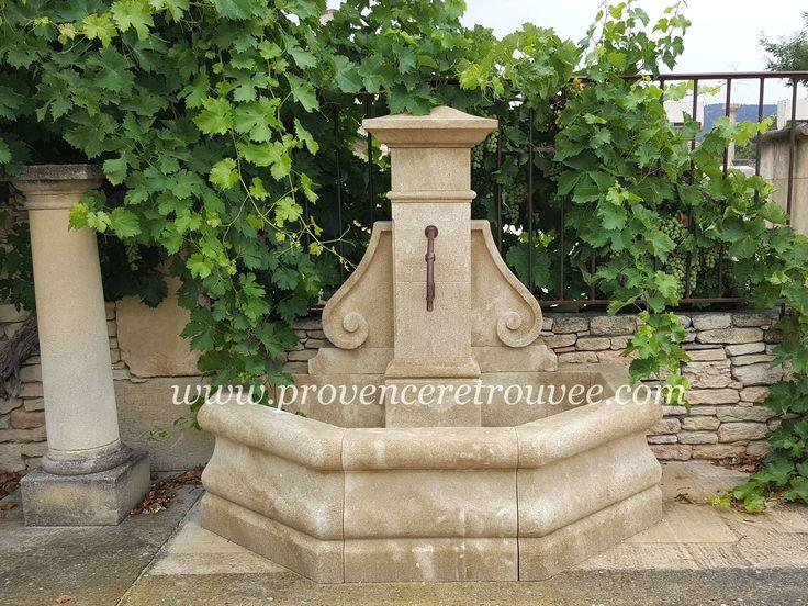 32 best Fontaine de jardin images on Pinterest | Garden fountains ...
