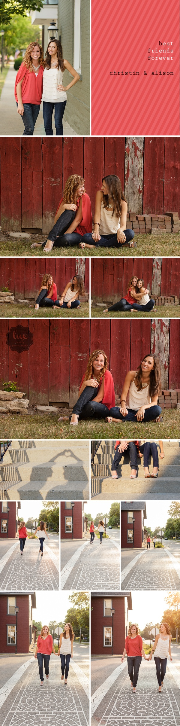 "Lux Senior Photography | Epic | ""BFF Shoot"" with Christin & Alison"