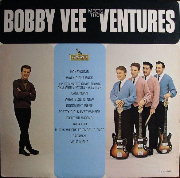 Bobby Vee And The Ventures - Bobby Vee Meets The Ventures (Vinyl, LP, Album) at Discogs  1963