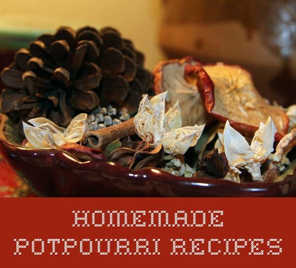 "An easy and inexpensive to make your home smell wonderful through the fall and holiday season is potpourri.  Here is a collection of homemade potpourri recipes to get you started. [View the story ""..."