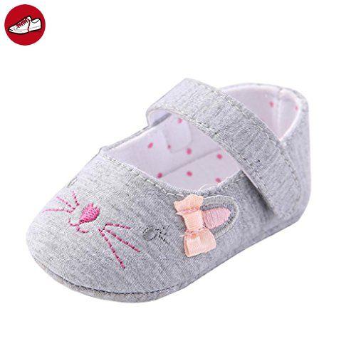 Igemy 1Paar Kleinkind Mädchen Krippe Schuhe Neugeborene Blume Soft Sohle Anti-Rutsch Baby Sneakers (11) (*Partner-Link)