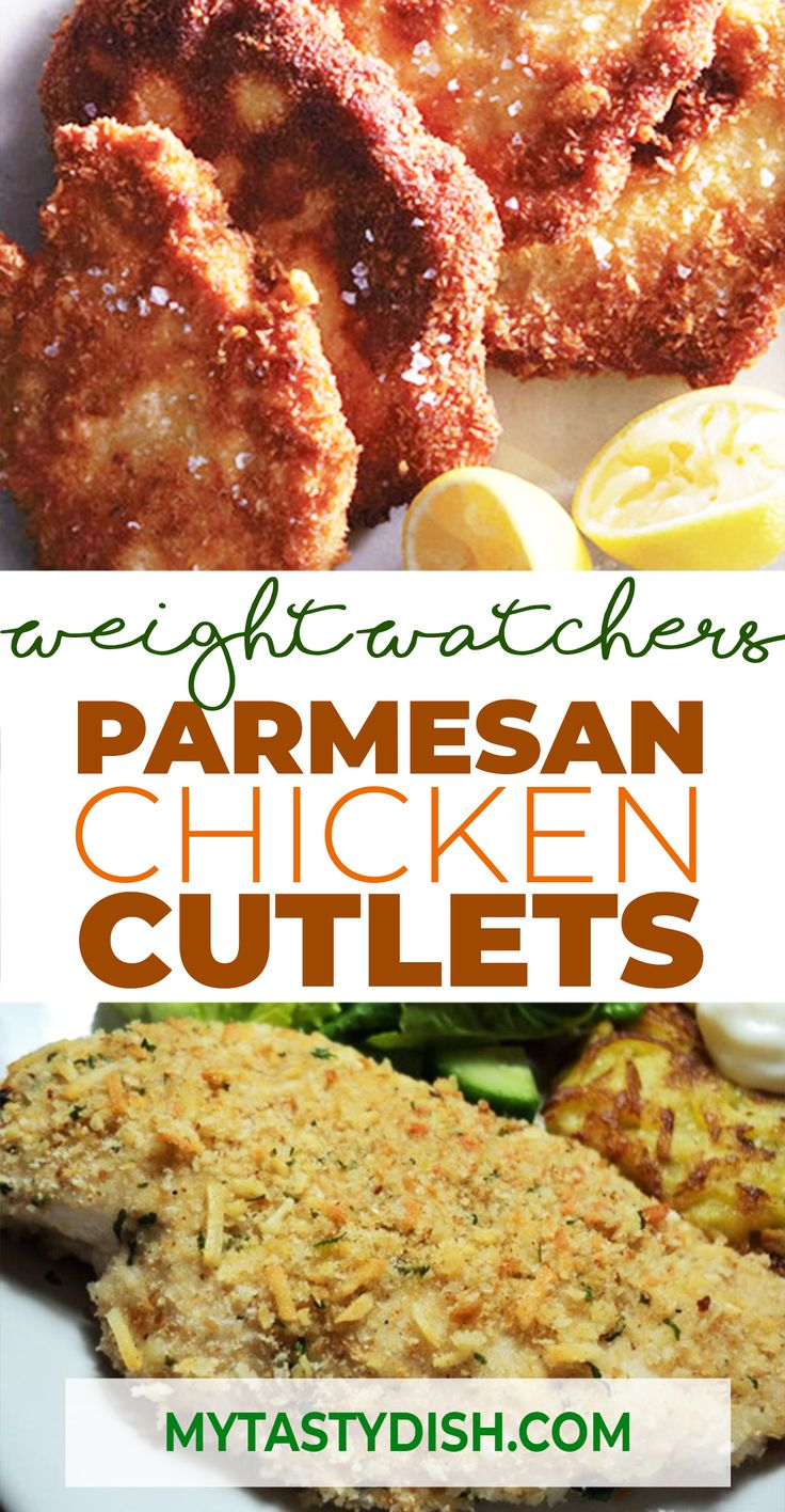 Parmesan Chicken Cutlets Come With 3 Weight Watchers FreeStyle Smart Points