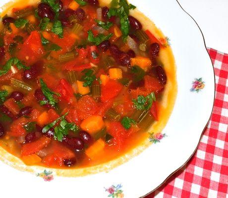 #reteta #supa de fasole si alte legume