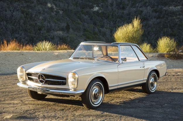 Mercedes Motoring - 1965 230SL Roadster/Coupe
