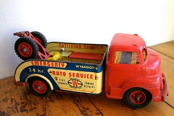 Love toy trucks!