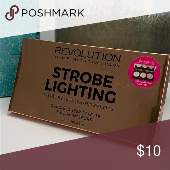 NEUE Makeup Revolution Strobe-Beleuchtungspalette 3 Strobe-Textmarker-Palette * …   – My Posh Picks