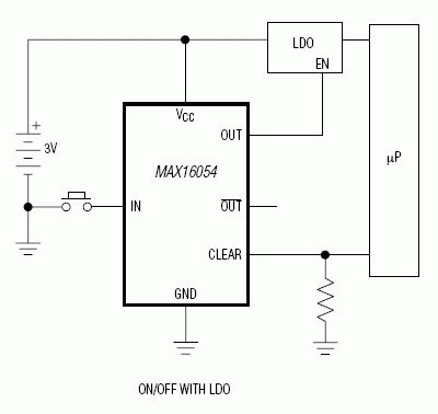 MAX16054: Typical Operating Circuit