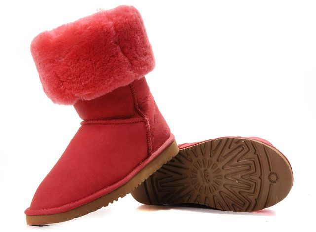 UGG Classic Tall Boots 5815 Deep Red|ugg outlet store $112.96