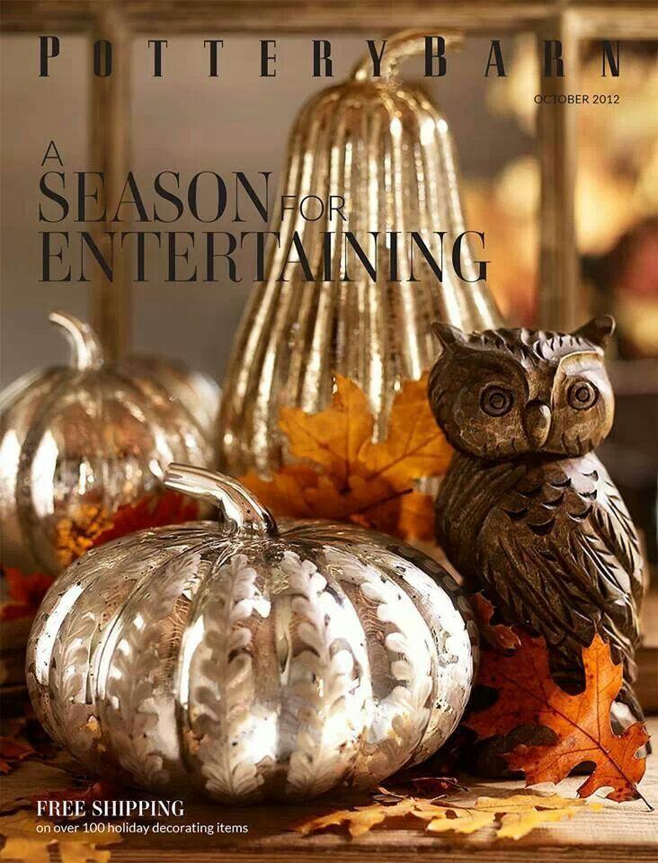 Pottery Barn: Thanksgiving Decor