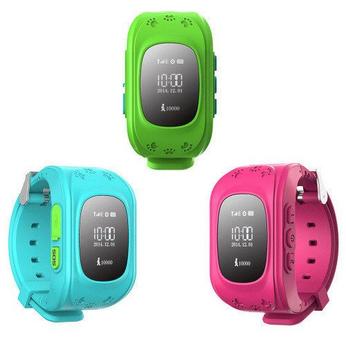 Buy Q50 Smart Watch Children GSM GPRS GPS Locator Tracker Anti-Lost Child Guard - BLUEfor R320.00