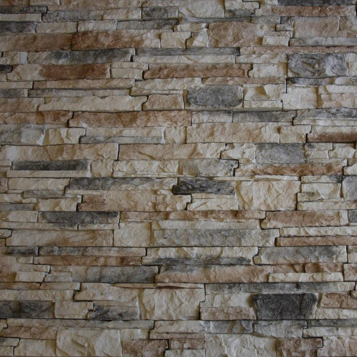 Native faux stacked stone with red black and brown color Faux interior stone wall panels home depot