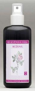 Květová voda růže, růžová voda, 100% čistá, z okvětních lístků růže damašské. Harmonizační vůně, jemná péče, široké využití.