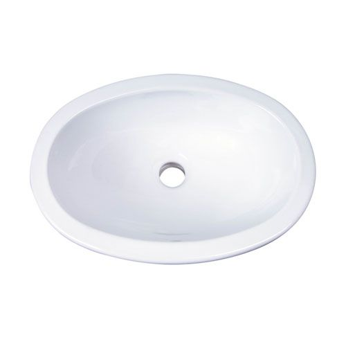 Lily White Drop In Bathroom Sink $108 price free ship