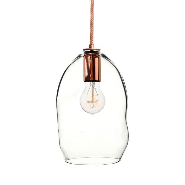 bubble copper hand blown glass pendant light hammers and heels each glass shade is bubble hand blown glass