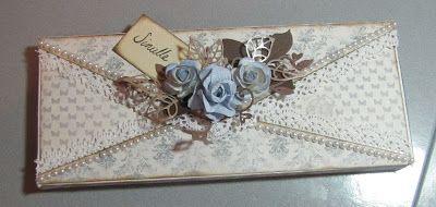 Päpsyn luomaa: Kirjekuori suklaalla täytettynä kera ohjeiden