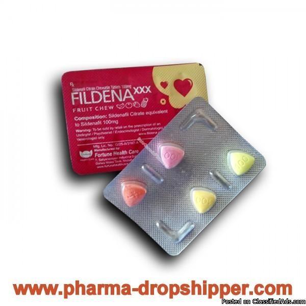 FildenaXXX (Sildenafil Citrate Chewable Tablets 100mg) - Classified Ad