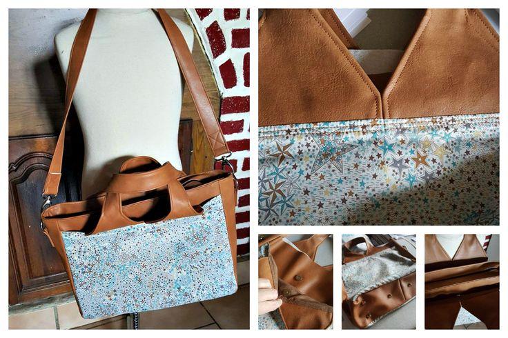 Le sac Foxtrot cousu par Coco - Patron sac Sacôtin www.sacotin.com