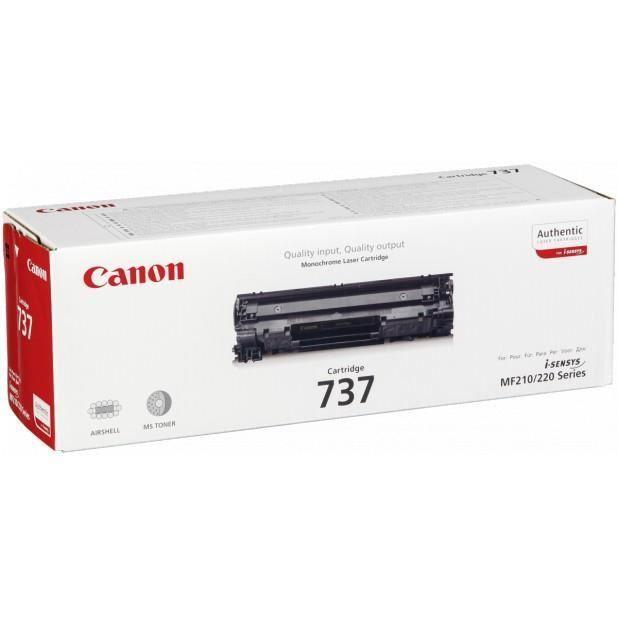 CANON Cartouche de toner CRG-737 – Noir – Capacité standard – 2 100 pages