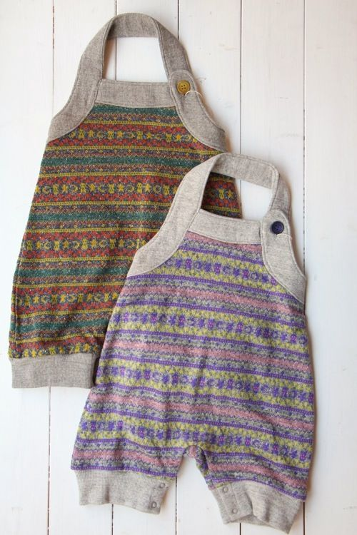 100% picnic. great use for old wool sweaters and some jersey...interesting halter detail