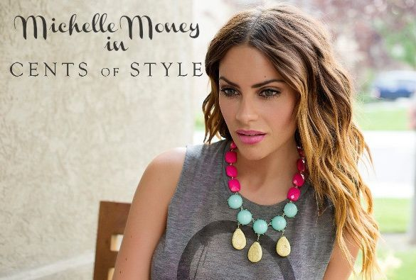 Love this Color Blocked Statement Necklace