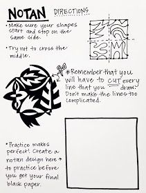 Teach and Shoot: Art Room Handouts [Round One] NOTANS - positive negative space - element of design