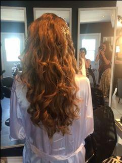 Bridal Hair #LongWaves #Blondehair #Gorgeous #UrbanSpaHairDesigns