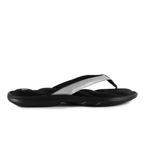 Nice Adidas Womens Chilwyanda Glitter Flip Flops -9996