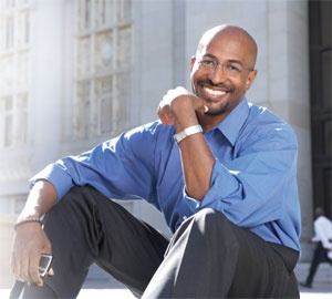 """Van Jones, founder of the Ella Baker Center for Human Rights and Time Magazine's """"Heroe(s) of the Environment"""""""