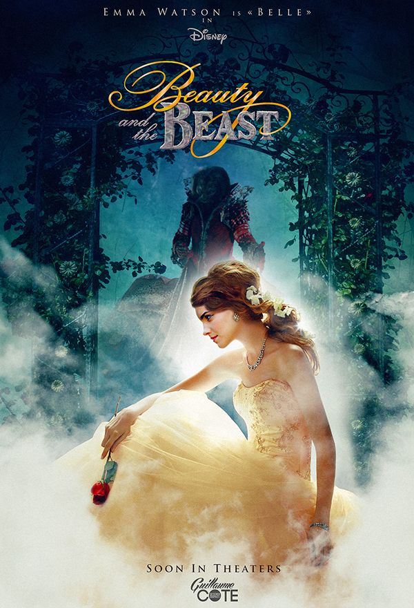 Beauty and the Beast Poster (With Emma Watson) on