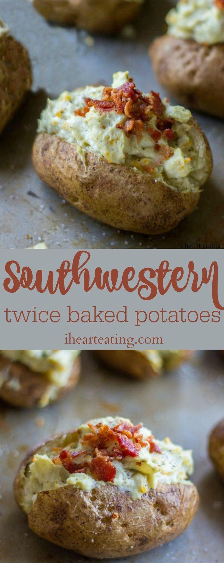 Southwestern Twice Baked Potatoes
