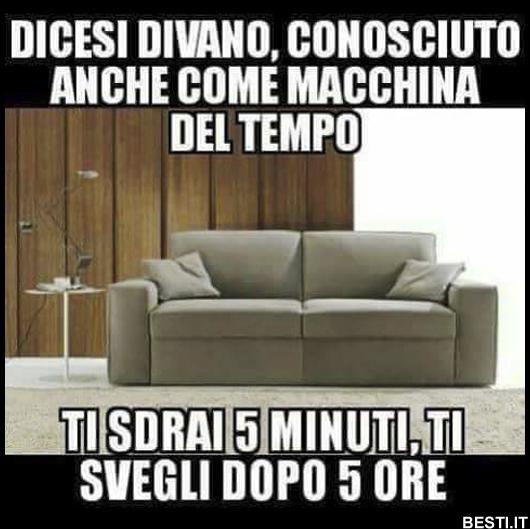 Dicesi divano
