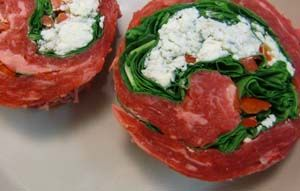 Easy Gluten Free Dinner Recipe – Flank Steak Florentine