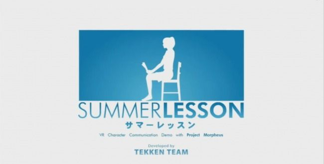 [GAMES] Team TEKKEN Takes Dating Sim To New Level With PS4 Project Morpheus