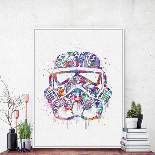 Darth Vader - Star Wars Wall Print