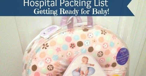 DigiCrumbs: My Hospital Packing List - Getting Ready for Baby