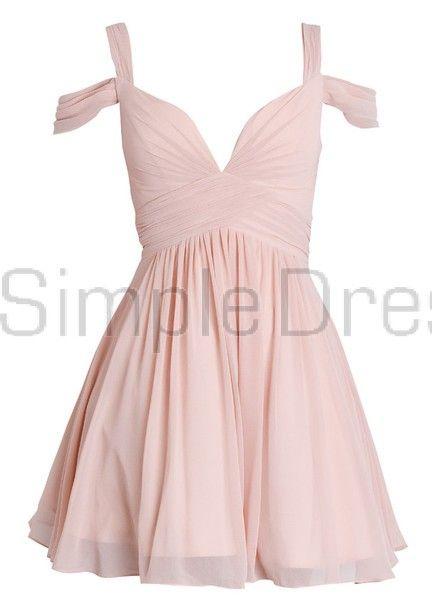 Elegant A-line Sweetheart Ruched Short Chiffon Dress